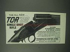 1983 Thompson / Center Arms Ad - TCR '83 Rifle
