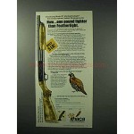 1978 Ithaca Gun Model 37 Ultrafeatherlight Shotgun Ad