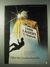 1978 Lord Calvert Canadian Whisky Ad - The Superstar