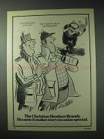 1978 Christian Brothers Brandy Ad - Every Occasion