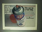 1978 STP Carburetor Cleaner Ad - Can Be a Real Help