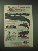 1978 Burris Scopes Ad - HiLume Lenses