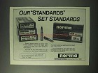 1978 Norma Cartridges Ad - Set Standards