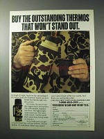 1986 Thermos Camo-Quart Vacuum Bottle Ad - Outstanding