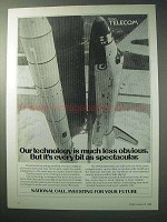 1986 British Telecom Ad - Space Shuttle Columbia
