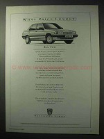 1986 Rover 200 Series Car Ad - What Price Luxury?