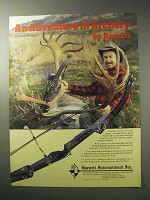 1986 Barnett Scorpia Bow Ad - Adventure in Archery