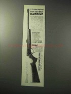 1986 Thompson / Center Arms Contender Carbine Ad