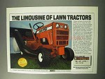 1986 Snapper LT16 Lawn Mower Ad - The Limousine