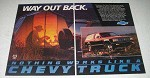 1986 Chevy S-10 Blazer Ad - Way Out Back