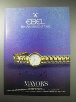 1985 Ebel Beluga Watch Ad