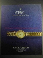1985 Ebel Beluga Watch Ad - Architects of Time