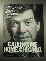 1985 Chicago Tourism Ad - Calling Me Home