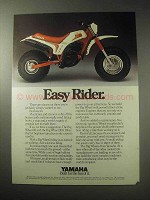 1985 Yamaha Big Wheel 200 Three-Wheeler ATV Ad