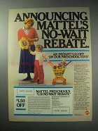 1985 Mattel Toy Ad - See 'N Say Spelling Fun-Damentals
