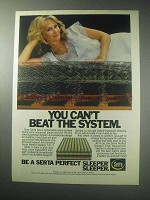 1985 Serta Perfect Sleeper Mattress Ad - Can't Beat