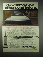 1985 Eureka Ultra Vacuum Cleaner Ad - Never Gone