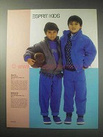 1985 Esprit Kids Fashion Advertisement