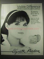 1985 Elizabeth Arden Visible Difference Complex Ad