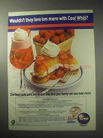 1985 Cool Whip Topping Ad - Love 'Em More