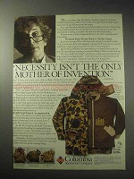 1985 Columbia Quad Parka Ad - The Mother of Invention