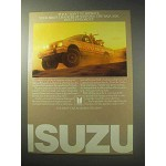 1985 Isuzu 4x4 Truck Ad - Winning the Baja 1000