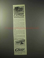 1985 Crane Cams Ad - Power For Your Pickup