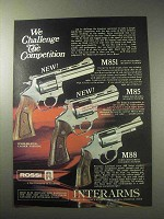 1985 Rossi M851, M85 and M88 Revolvers Ad