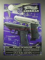 1985 Walther PPK/S American Pistol Ad - Blueprint