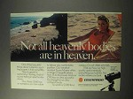 1985 Celestron C90 Telescope Ad - Heavenly Bodies