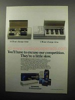 1989 Eveready Generator Rechargeable Battery Ad