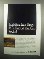 1989 Mopar Customer Care Ad - Better Things To Do