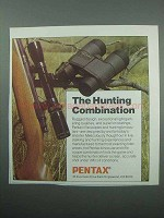 1989 Pentax Binoculars and Scopes Ad - Hunting