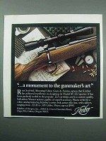 1989 Kimber Model 84 .223 Sporter Rifle Ad