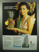 1987 Malaysia Tourism Ad - World's Friendliest People