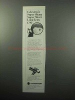 1987 Celestron C90 Telescope Ad - Super Sharp