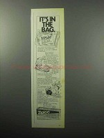 1987 Ziploc Storage Bags Ad - It's In The Bag