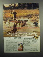 1987 Alpo Dog Food Ad - Remember Your Hunting Partner