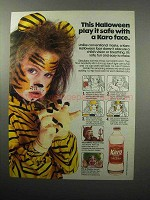 1987 Karo Light Corn Syrup Ad - This Halloween