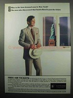 1987 Austin Reed Fashion Ad - Best Dressed in New York