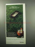 1987 Rust-Oleum Paint Ad - What Harm Can Water Do?