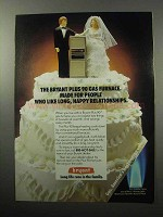 1987 Bryant Plus 90 Gas Furnace Ad - Long Relationships