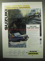 1987 Suzuki Santana SJ410 Truck Ad - One That Got Away