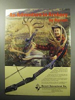 1987 Barnett Scorpia Bow Ad - An Adventure in Archery