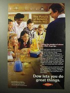 1987 Dow Chemical Ad - The Wonders of Science