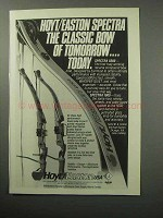 1987 Hoyt / Easton Bow Ad - Spectra 5000, Spectra 1000