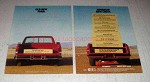 1987 Chevy Truck Ad - Old New Ford Advanced new Chevy