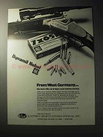1977 Dynamit Nobel RWS Cartridges Ad - West Germany