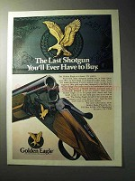 1977 Golden Eagle Over/Under Shotgun Ad