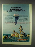 1976 Evinrude 35 Outboard Motor Ad - Something Else